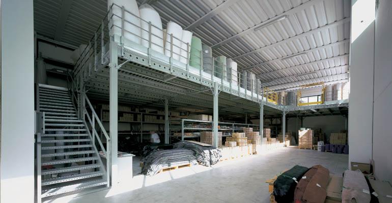 Scaffalature industriali soppalchi