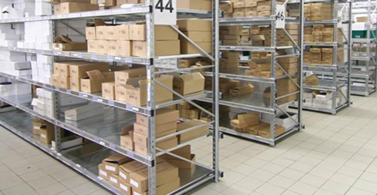 Scaffalature metalliche negozi arredo scaffali metallici industriali