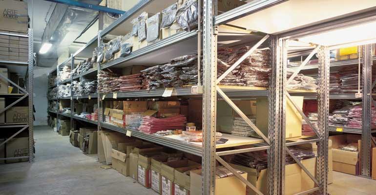 scaffali metallici industriali portapallet