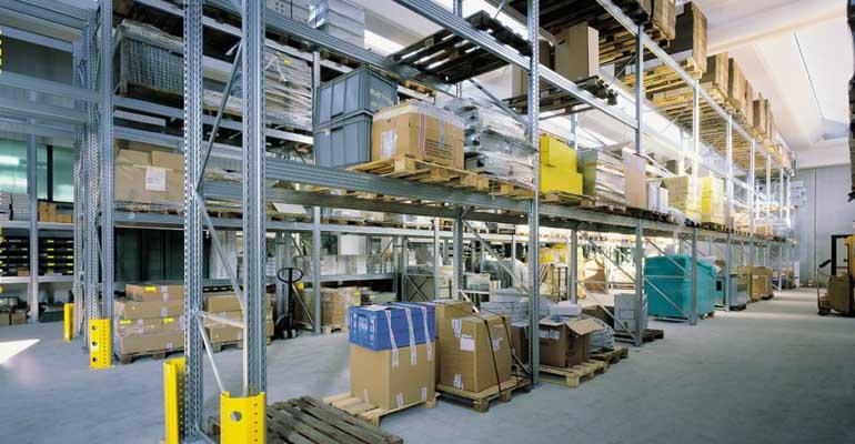 scaffali metallici industriali portapallet scaffalatura magazzino