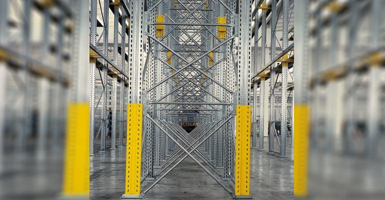 scaffalatura industriale