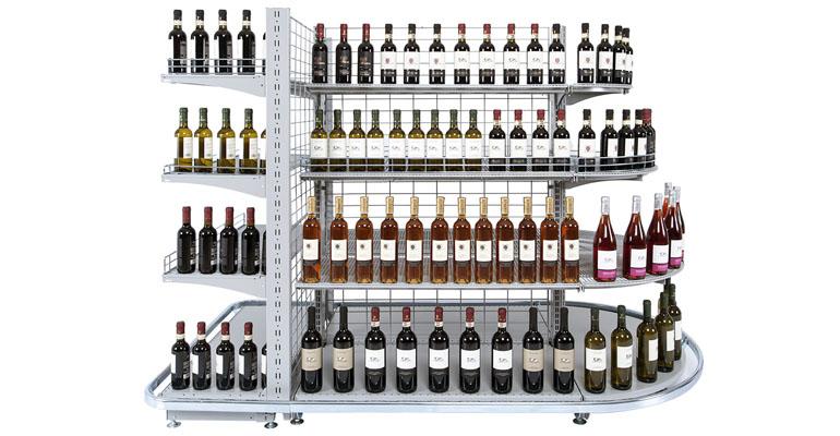 arredo negozio - scaffalatura wire negozi arredo, arredamento negozi, Scaffalature per negozio Ascoli Piceno, Arredamento supermercati