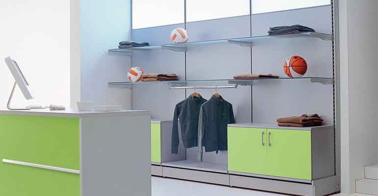 negozi arredo, arredamento negozi, Scaffalature per negozio Ascoli Piceno, Arredamento supermercati