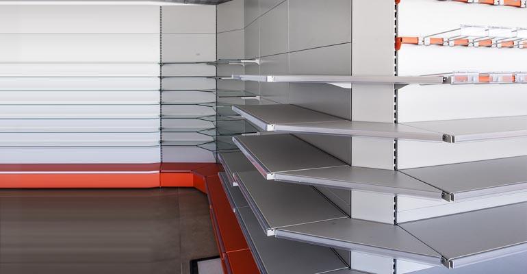 arredo negozio, mobili per negozi, Scaffalature per negozio, Arredamento supermercati Ascoli Piceno
