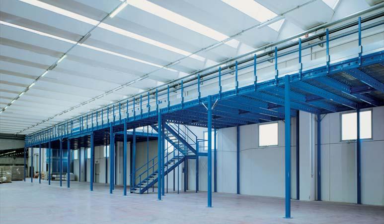 Soppalco Sigma - soppalchi industriali per magazzini