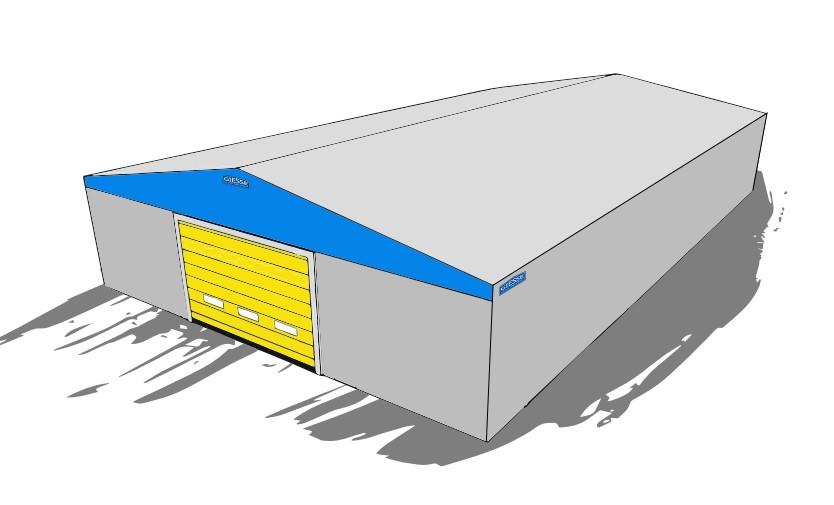 Copertura Telonata Indipendente - capannoni