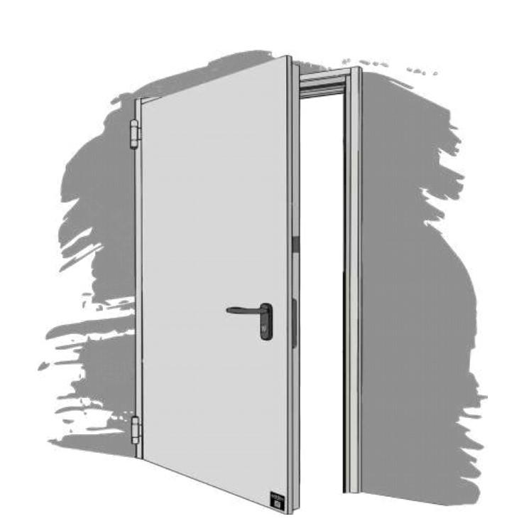 Porta Pedonale STEEL Open
